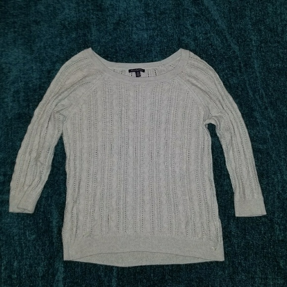 American Eagle Outfitters Sweaters - American Eagle Women's Light Blue Sweater